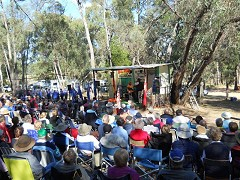 Hartwood Anzac Service 2011