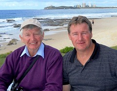 Paul McCloud and son Craig McCloud