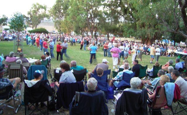 Dancing at Hartwood 2008