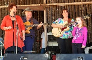Performers at Hartwood Festival 2013